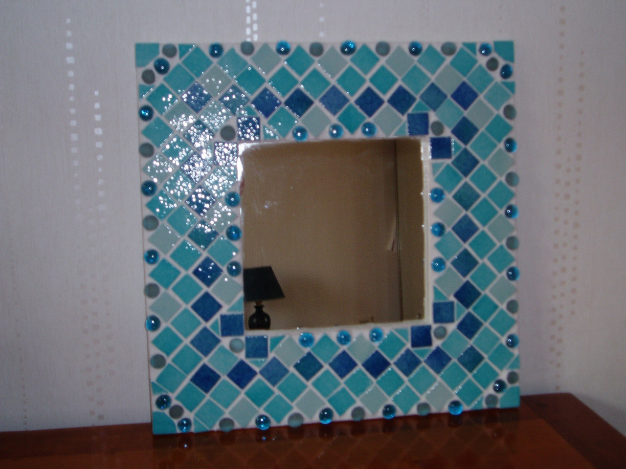 Mosaique mosa ques artisanales for Miroir en mosaique